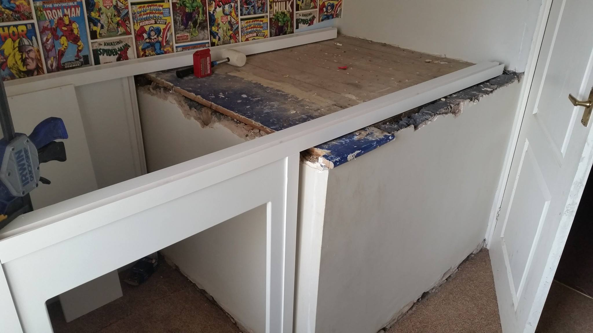 Image Result For Bed Built Over Stair Box: Plan-itwood