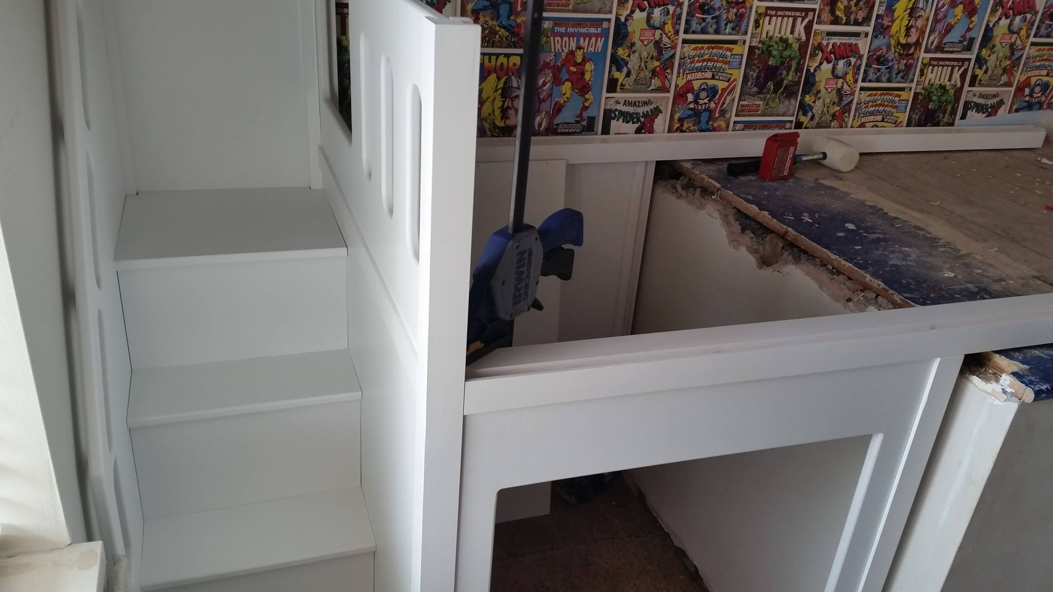 Bed Over Stair Box Google Search: Plan-itwood