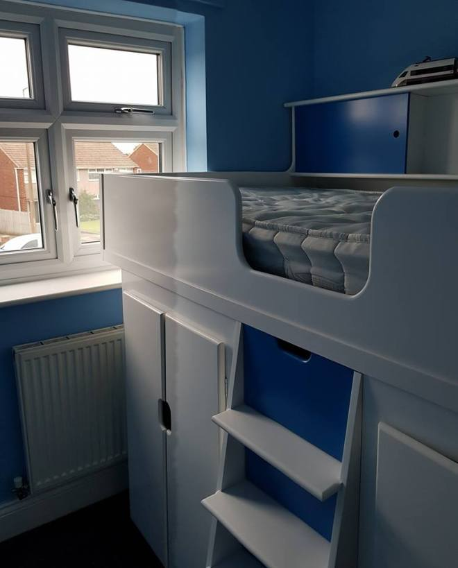 High Sleeper Chelsea Bed