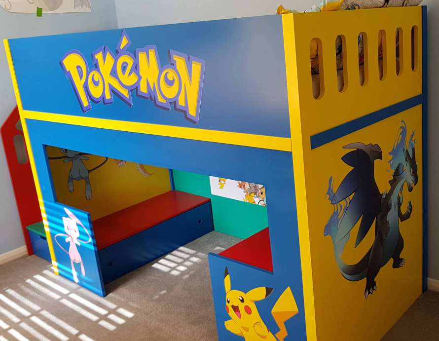 Pokemon Bed