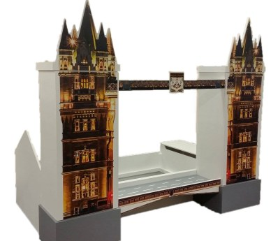London Themed Bed