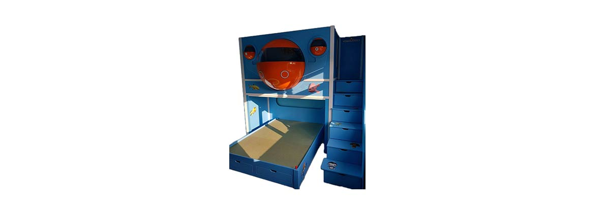 Octonauts Pod Themed Bed