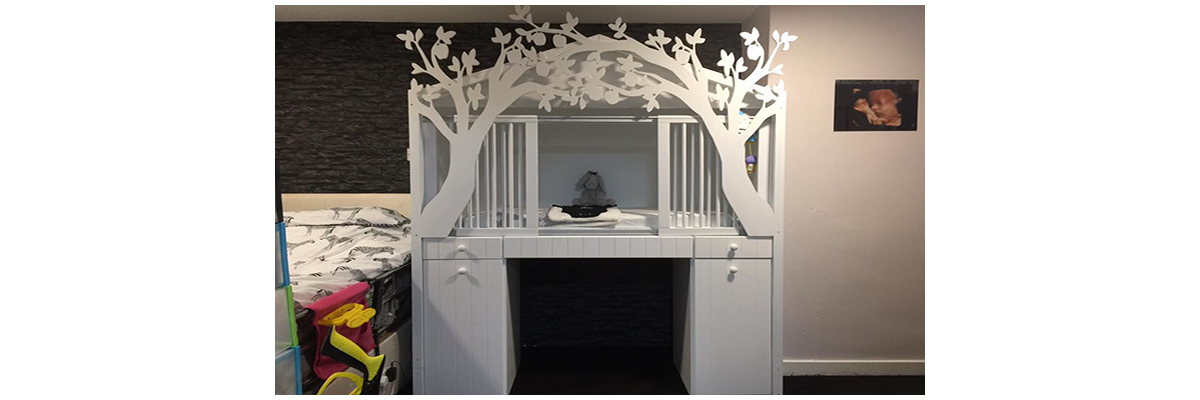 Wheelchair Accessible Cot With Changing Station