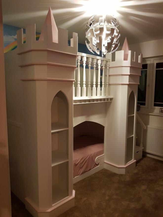 Princess Palace Theme Bed 2