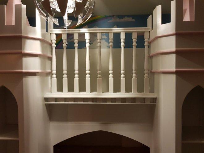 Princess Palace Theme Bed 2A