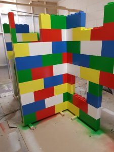 Lego Block Playhouse Bed A