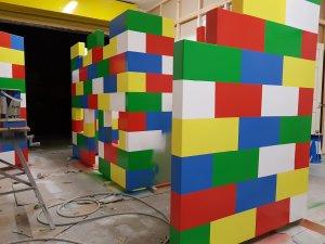 Lego Block Playhouse Bed C