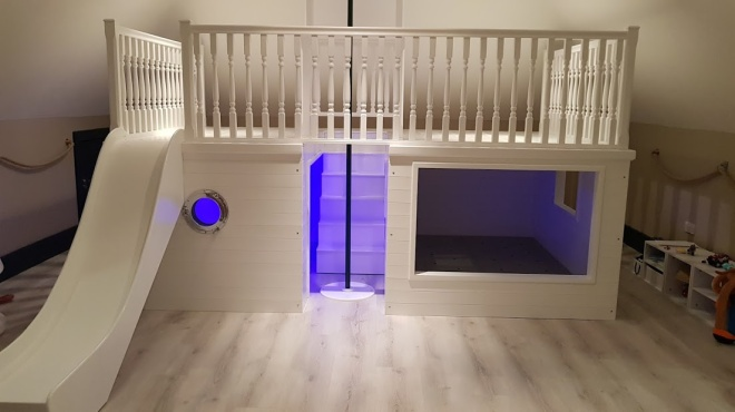 Playhouse Bed Blue
