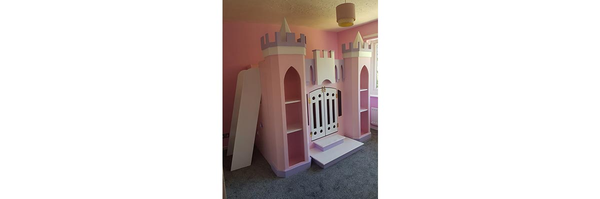 Princess Bed and Ladder